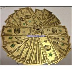 10 tờ tiền vàng may mắn - Lộc đầu xuân