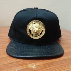 Nón vải snapback - Mũ vải snapback - Medusa - Versace