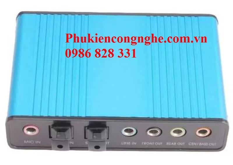 Bộ điều khiển âm thanh 5.1 qua cổng USB máy tính Sound box 3