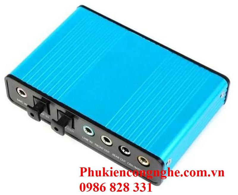 Bộ điều khiển âm thanh 5.1 qua cổng USB máy tính Sound box 2
