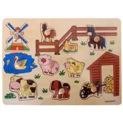 Bảng ghép hình nông trại