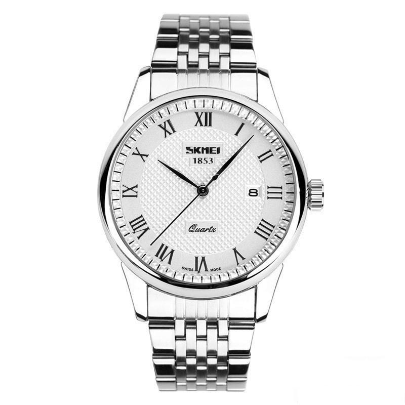 Đồng hồ nam dây kim loại cao cấp 1