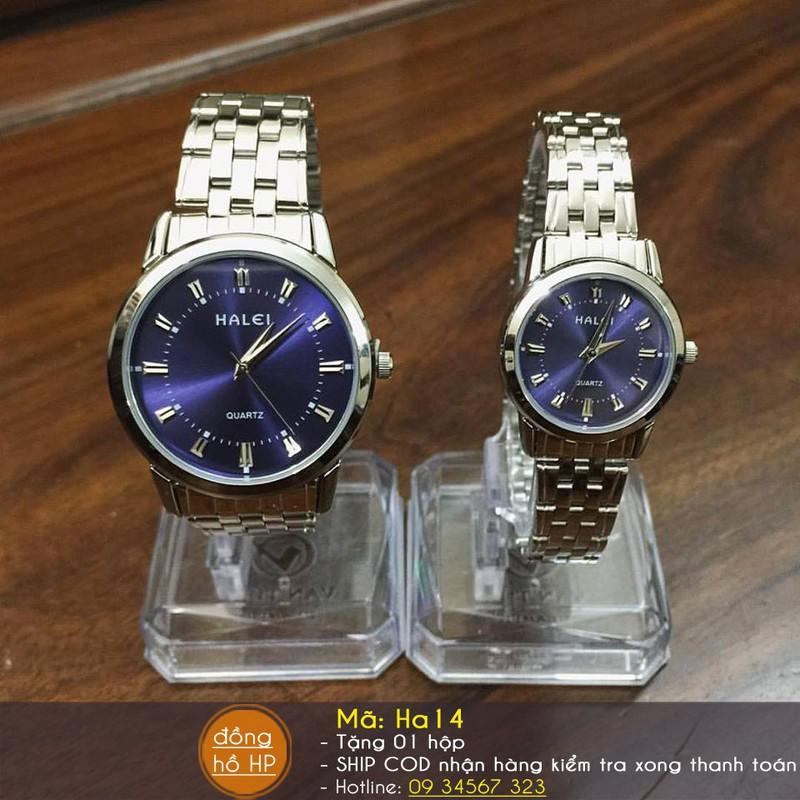 [VIDEO] Đồng hồ cặp đôi Halei cao cấp chịu nước - Giá 1 đôi - 712 11