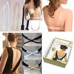 10 miếng cài áo ngực + 3 Dây chuyển đổi + 5 miếng nối