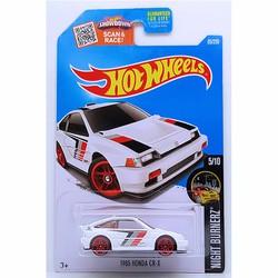 Xe mô hình tỉ lệ 1:64 Hot Wheels 2016-1985 Honda CR-X Trắng