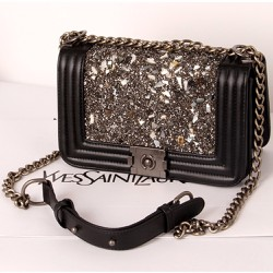 Túi xách đính đá chất liệu cao cấp sang trọng dể phối thời trang-205