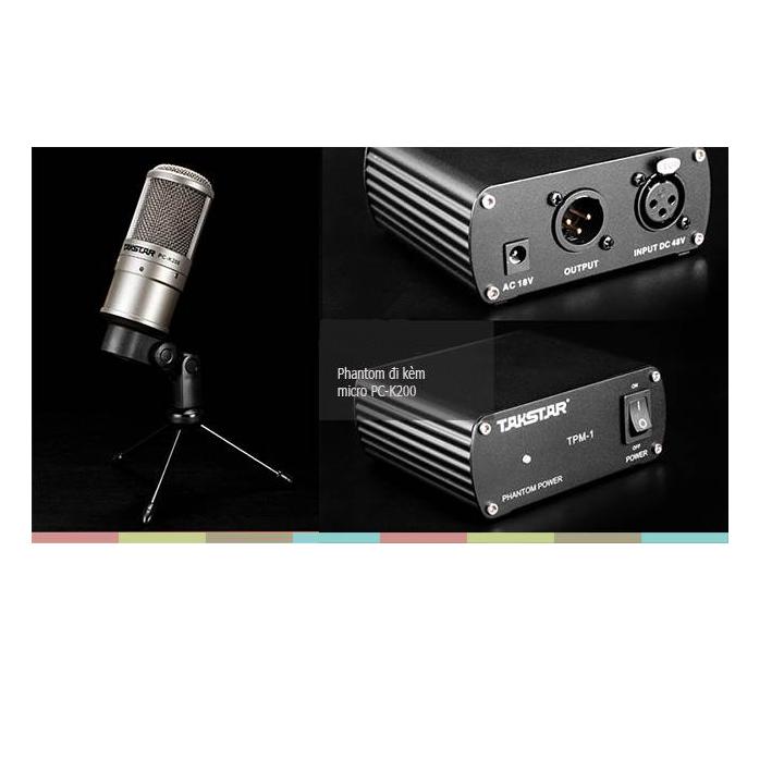 Micro condenser Takstar PC-K200 Suite 5