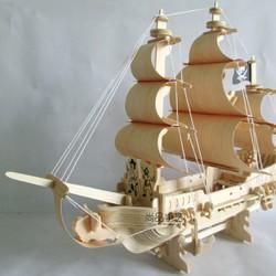 Mô hình tàu thuyền cướp biển lắp ghép