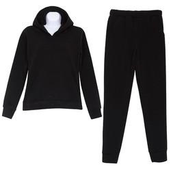 Bộ quần áo ngủ mặc nhà thể thao thu đông nữ có mũ ZENKO 005 B
