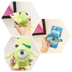 [Xoài Xấu Xa Shop] CASE ỐP LƯNG GẤU BÔNG SULLEY MIKE IPHONE 6,6S PLUS