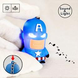 Móc khóa captain có đèn led cung cấp bởi WINWINSHOP88
