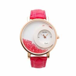 Đồng hồ nữ mặt hạt đá pha lê - Giá Cực Sốc