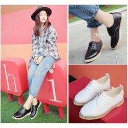 Giày oxford đế viền | giày oxford nữ