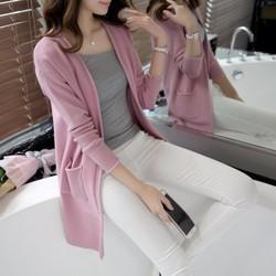 Áo khoác len dáng dài thời trang Hàn Quốc - TX036
