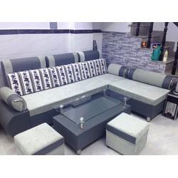 sofa phòng khách giá rẻ gồm 4 món giá chỉ 7 triệu