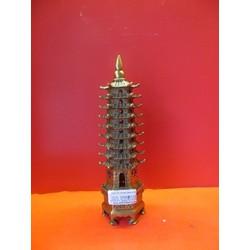Tháp văn xương đồng cao 22 cm - Phongthuydotho