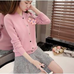 Áo khoác len cài cúc thời trang thu đông cao cấp - #2760