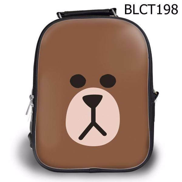 Balo học sinh Dễ thương Mặt gấu Brown - VBLCT198 2