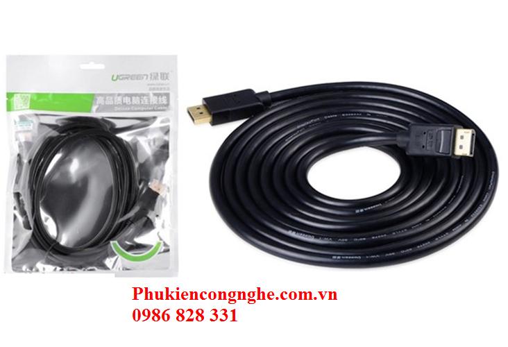 Cáp Displayport 2 đầu dương dài 5m chính hãng Ugreen UG-10213 4