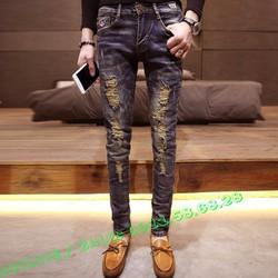 Quần Jeans Nam thời trang hàn quốc cao cấp QJN1988A