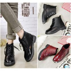 Giày boot combat