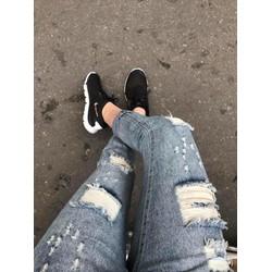 quần baggy rách
