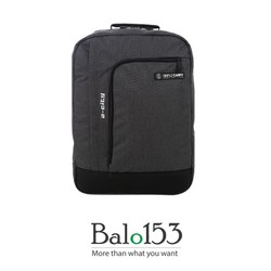 balo153-Balo đựng laptop 17inch Simplecarry A-city  D.grey
