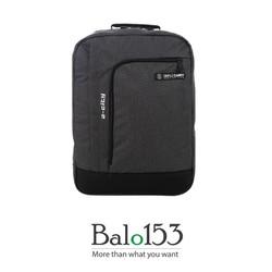 balo153-Balo đựng laptop 17inch Simplecarry A-city  D.grey