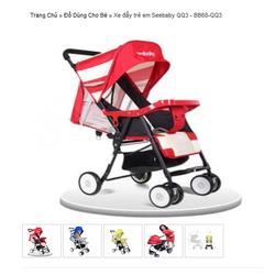Xe đẩy trẻ em Seebaby QQ3