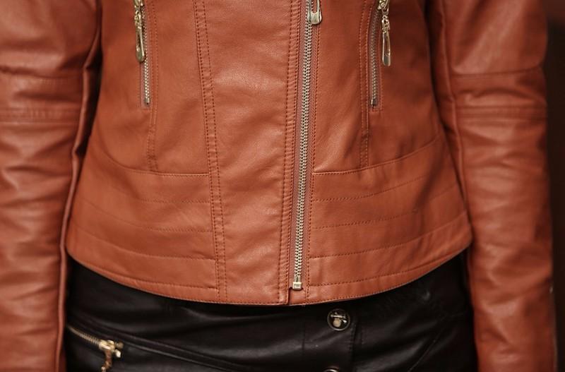 Áo khoác da nữ AK103 9