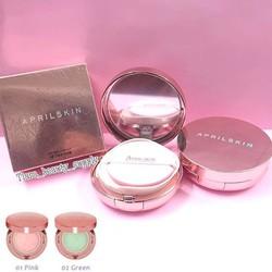 Phấn nước April Skin Pink che phủ cực tốt 3 trong 1 giá chỉ 320,000