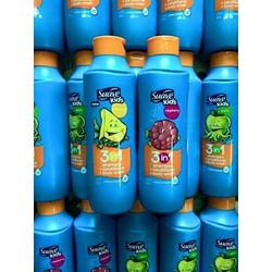 Sữa tắm, gội và xả dành cho trẻ em Suave Kids 3 in 1 của Mỹ
