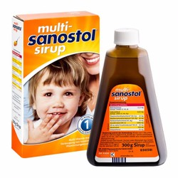 Vitamin tổng hợp Sanostol số 1 xách tay Đức