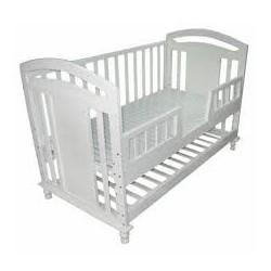 Cũi giường trẻ em đa năng Teddy 9 trong 1 mầu trắng