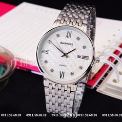 Đồng hồ nam dây inox cao cấp BAISHUNS mã BA19