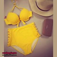 Bộ Bikini Cạp Cao EvaBKN20