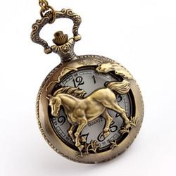 Đồng hồ quả quýt hình chú ngựa