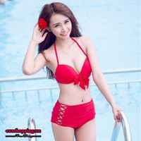 Bộ bikini hai mảnh cạp cao EvaBKN142