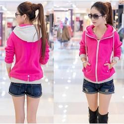Áo khoác Pink Color  TD10