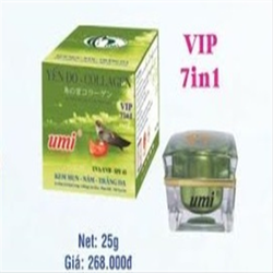 Kem Mụn Nám Trắng Da Yến đỏ Collagen UMI - 25g