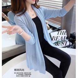 Áo len cardigan Hàn quốc dáng dài