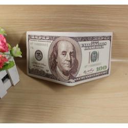 Ví nam in hình tiền loại 100 USD