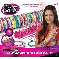 Bộ đồ chơi làm vòng trang sức Sparkle Cra-Z-Loom