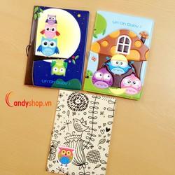 Ví passport 3D PP53 candyshop88.vn