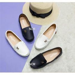 Giày mọi da LV
