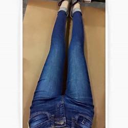 Quần jean Nữ skinny xuất xịn, phôm quần ôm sát, chất jean pha thun