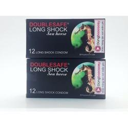 2 Hộp Doublesafe Long Shock kéo dài thời gian 24 chiếc
