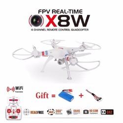 Flycam Syma X8W truyền hình trực tiếp trên điện thoại