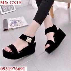 Giày đế bằng cao gót 6cm - GX19