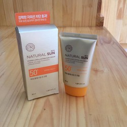 Kem chống nắng NATURAL SUN Eco Power Long Lasting Sun Cream SPF 50 PA